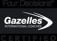 FOUR DECISIONS(TM) CERTIFIED GAZELLES COACH